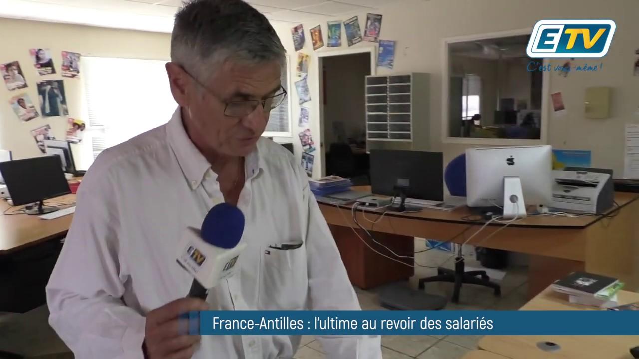 France-Antilles : l'ultime au revoir des salariés