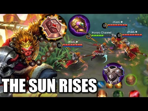 DOUBLE OR TRIPLE THE EFFECTS OF ITEMS WITH THE NEW SUN