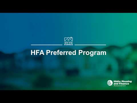 HFA Preferred Loan Webinar 2018