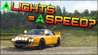 Forza Horizon 4   5 times the headlights, 5 times the speed?
