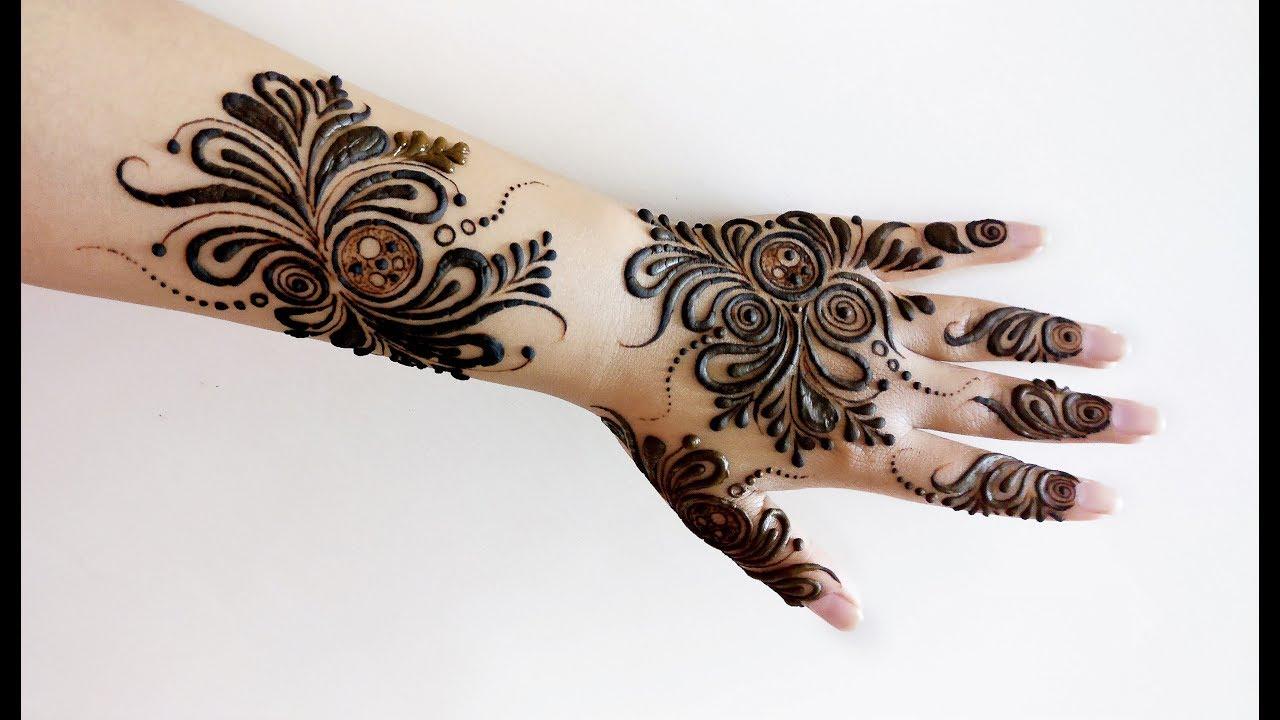 Hand Mehndi Designs For Unique: New Unique Mehndi Design For Hand 2018