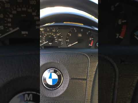 96 Bmw Z3 Instrument Cluster Bulb Replacement