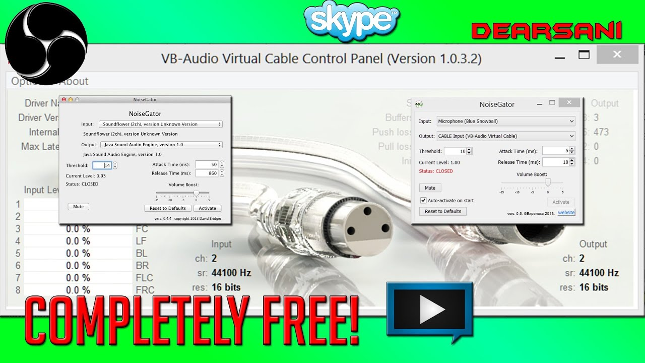 how to uninstall vb audio cable
