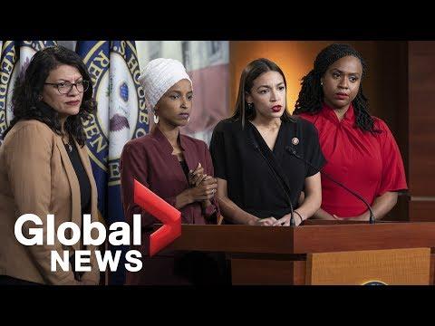Democratic Congresswomen Respond To Trump Racist Comments