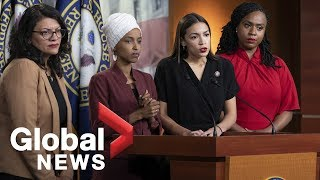 Democratic congresswomen respond to Trump racist comments