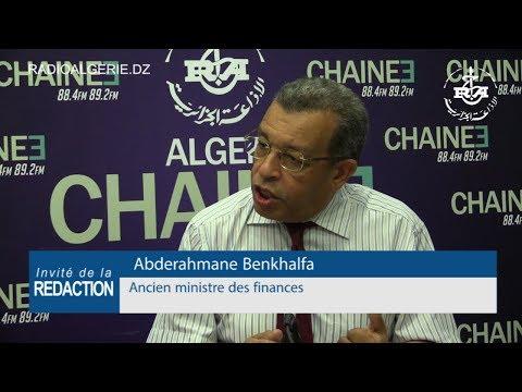 Abderahmane Benkhalfa, Ancien ministre des finances