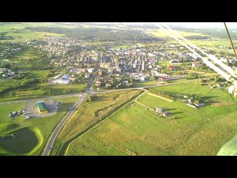 Flight Over Samogitia, Lithuania