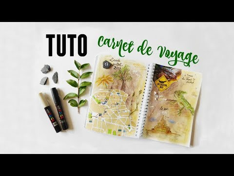 TUTO Carnet de Voyage