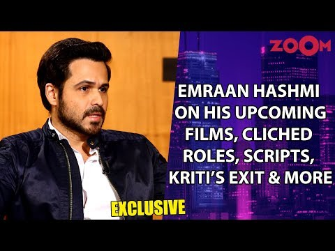 Emraan Hashmi on The Body, Mumbai Saga, cliched roles image, sensuality, Kriti's exit from Chehre