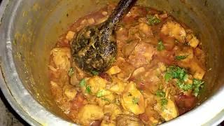 Chicken karahi /Quick chicken karahi for lots of guests. Maria,s kitchen