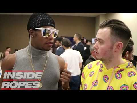 WEIRDEST WWE NXT INTERVIEW EVER with The Velveteen Dream!