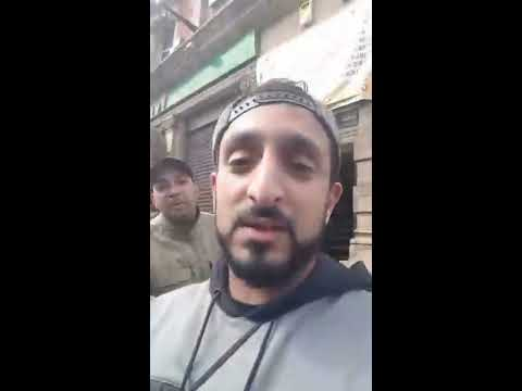 Extremely British Muslims Chase EDL / Britain First out of Birmingham today
