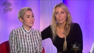 Barbara Walters entrevista a Miley Cyrus ABC - 16/12/2013