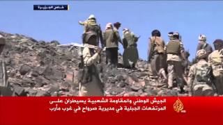 قوات الشرعية تسيطر على مرتفعات بصرواح اليمنية