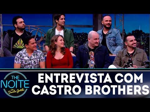 Entrevista com Castro Brothers  The Noite 160718