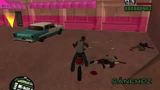 Stun En GTA  San Andreas Y Estrelladas Con La Sanchez
