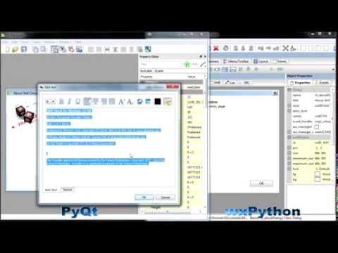 Classic Python 2.5 GUI Programming: PyQt vs. wxPython