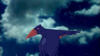 Crow Colour Test 2d animation using Toonboom Studio 4