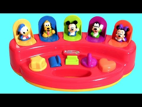 Disney Baby Mickey Mouse Surprise Pop-Up Toys