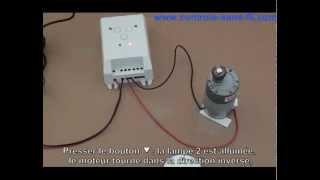 Comment commander un moteur 12v par kit émetteur récepteur radio S1FD-DC12 CA-4?