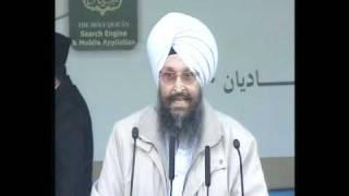 (Punjabi) Sikh Santh Guest 1 at Jalsa Qadian 2010