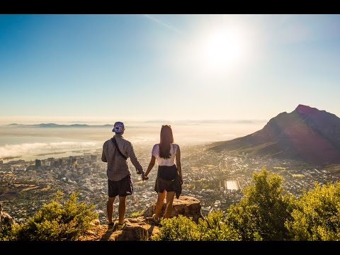 Climbing Lion's Head! #AmazingSunrise