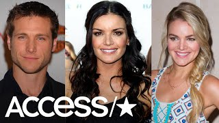 """Following their final rose, the stars of ABC's """"The Bachelor"""" and """"..."""