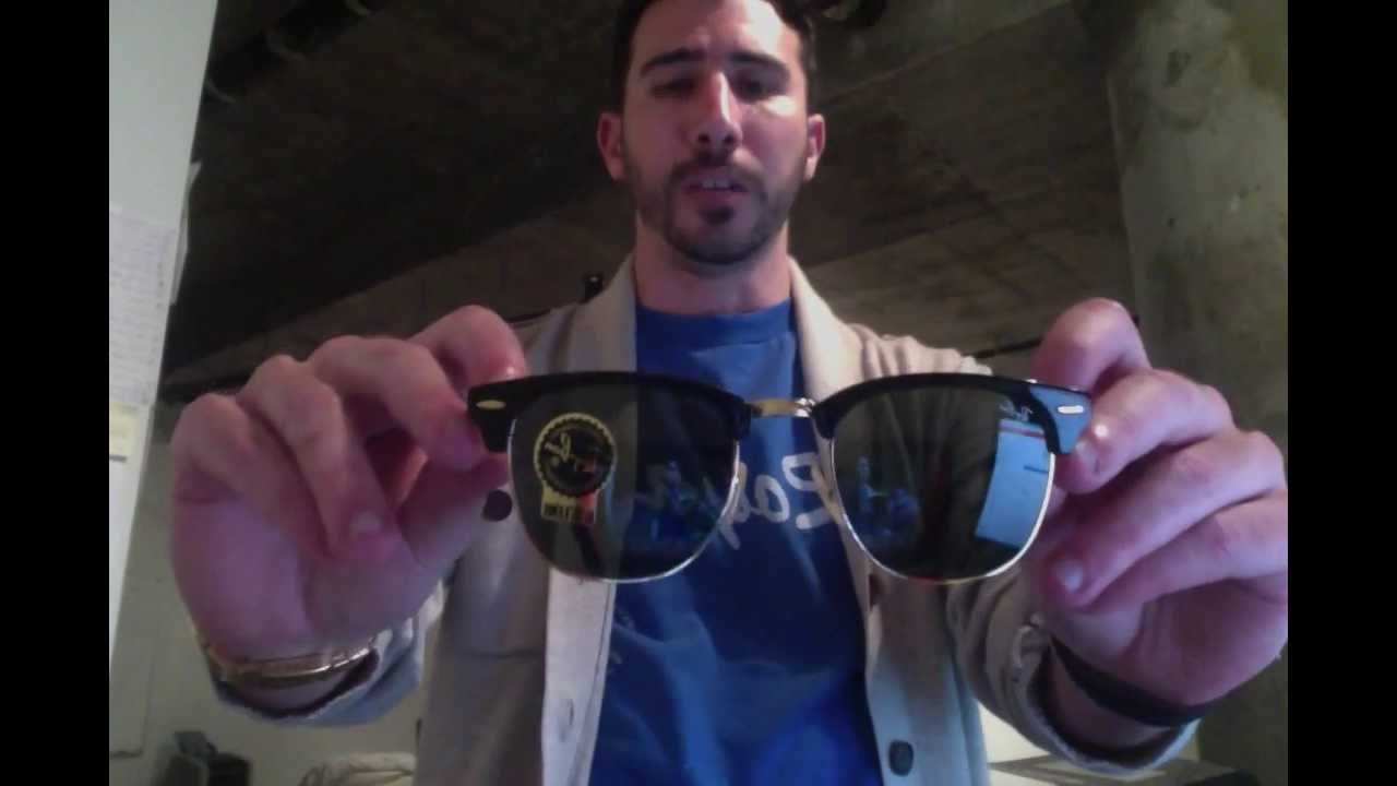 Review of the Ray-Ban RB 2176 Foldable Clubmasters - YouTube 7480d2d117