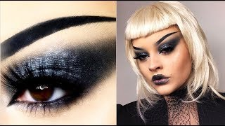 BRIDE OF CHUCKY inspired Halloween makeup tutorial | Lucy Garland