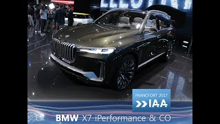 Concepts BMW en direct du Salon de Francfort 2017