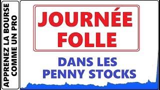 JOURNEE FOLLE DANS LES PENNY STOCKS A LA BOURSE DFBG +520% PED +973% ET BEAUCOUP D'AUTRES YUMA CEI