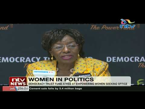Democracy trust fund holds forum aimed at empowering women seeking office