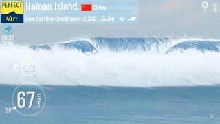 40 ft Hainan Island True Surf