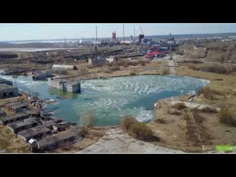 INCREÍBLEAsí está siendo una ciudad fantasma rusa 'tragada' por la tierra.