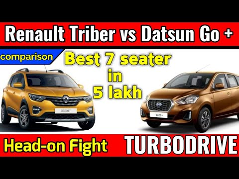 Renault Triber vs Datsun Go plus| Most affordable MPV| Detailed Review and Comparison