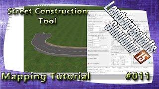 LS15 Giants Editor Map Tutorial #011 Street Construction Tool