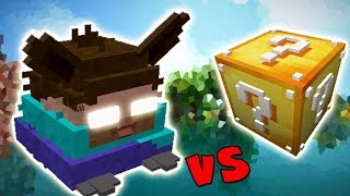 FURBY HEROBRINE VS. LUCKY BLOCK (MINECRAFT LUCKY BLOCK CHALLENGE)