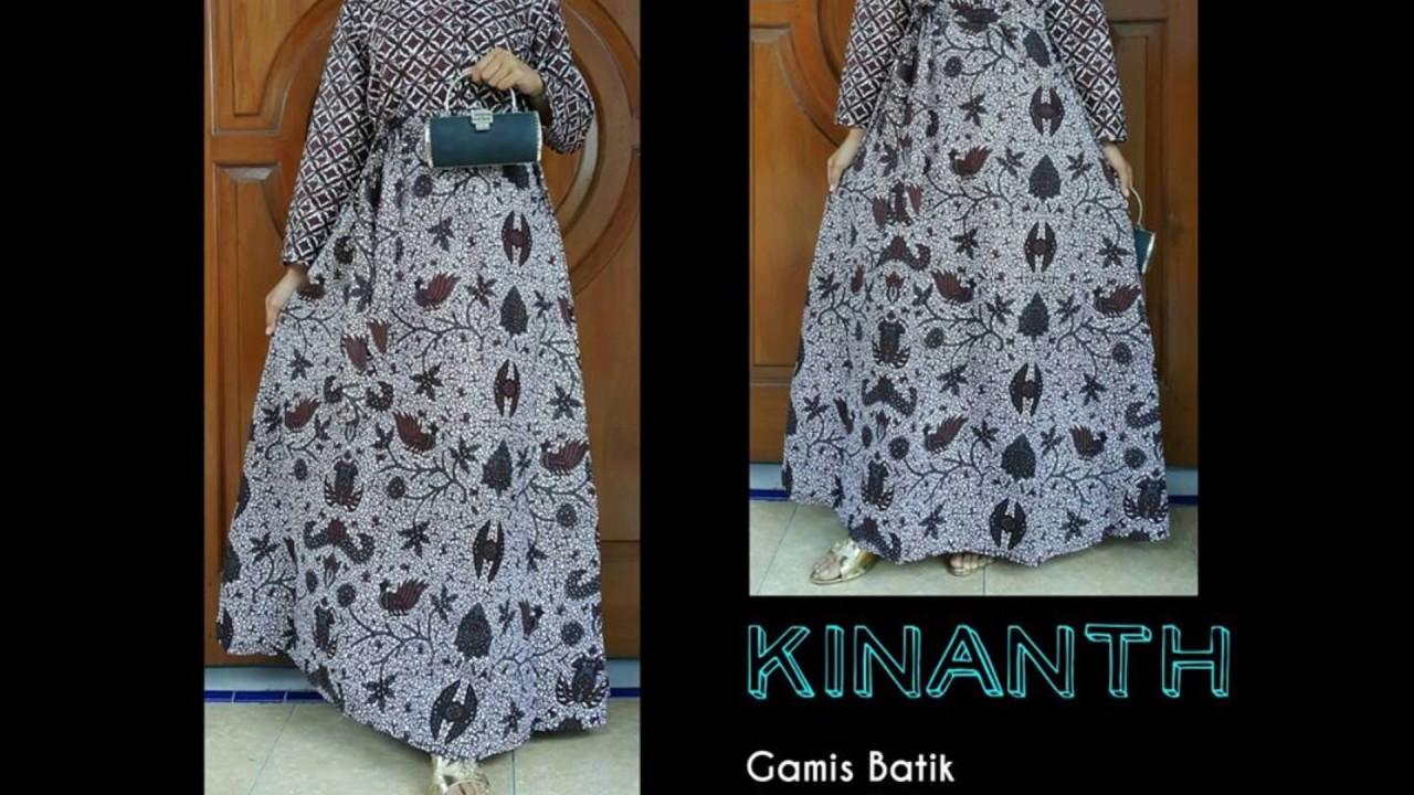 Wa 0812 2533 6662 Gamis Batik Untuk Ibu Hamil Gamis Batik Umroh