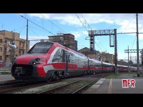 """NUOVO ETR 700 FYRA V250 """"ALBATROS"""" n°4810 in viaggio da PISTOIA a MILANO C.LE transita a PISA C.LE."""