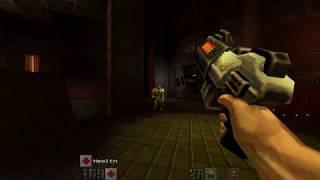 Yamagi Quake II (with high resolution retexturing pack)