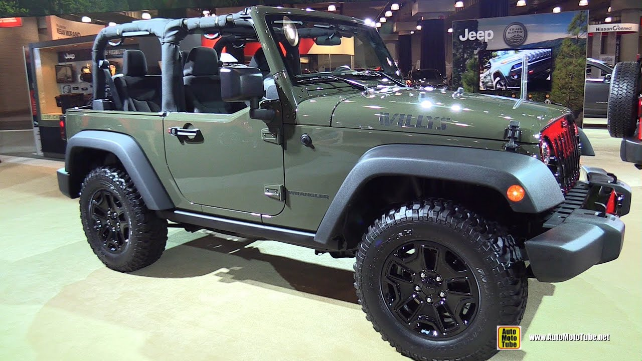 2015 jeep wrangler willys wheeler exterior and interior. Black Bedroom Furniture Sets. Home Design Ideas