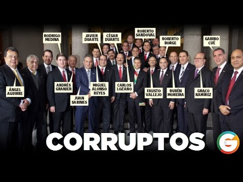 Club De Los Gobernadores Corruptos Youtube
