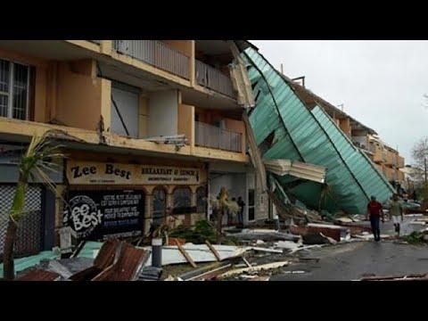 Les habitants de Saint-Martin découvrent les ravages d'Irma