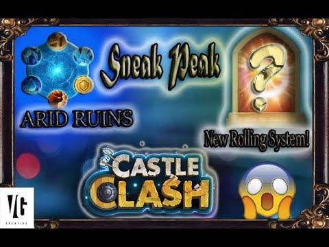 Castle Clash Sneek Peak!! March2018!!