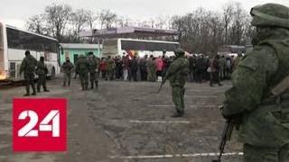 Порошенко попиарился на обмене пленными - Россия 24