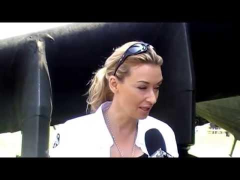 Festyn Lotniczy w Michałkowie 2011 - wywiad/interview Martyna Wojciechowska
