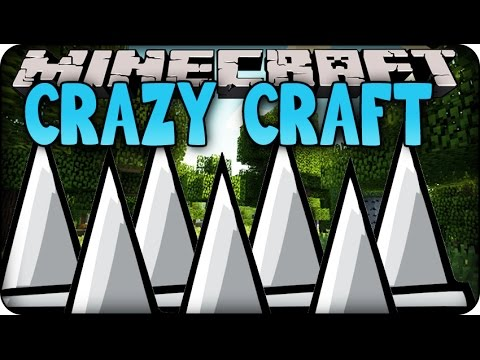 Minecraft mods crazy craft 2 0 ep 144 39 secret traps for 101 crazy crafting ideas