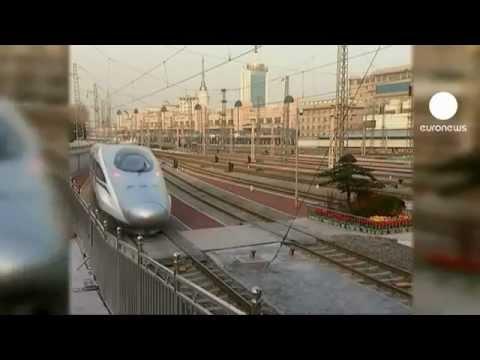 China tiene el tren bala más largo del mundo