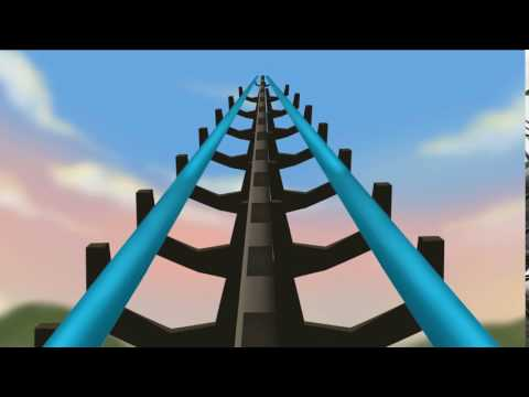 3D Theme park - Digital Media Project Year 2