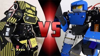 ROBOT DEATH BATTLE! -  Super Anthony VS Leo 28 (ULTIMATE ROBOT DEATH BATTLE!)